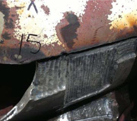 Runner Bucket Trailing Edge Repair