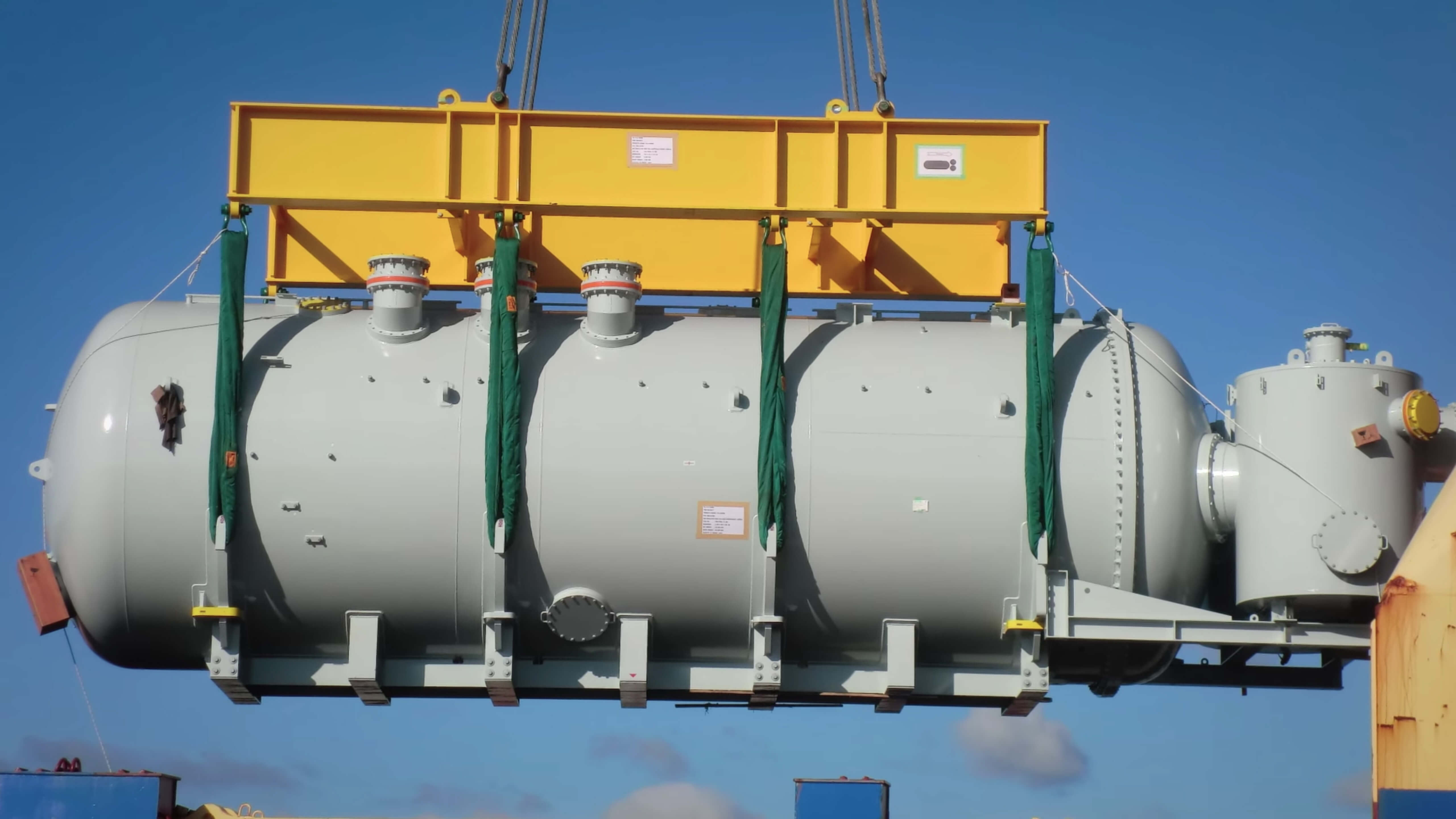 Toshiba Gas Insulated Transformer