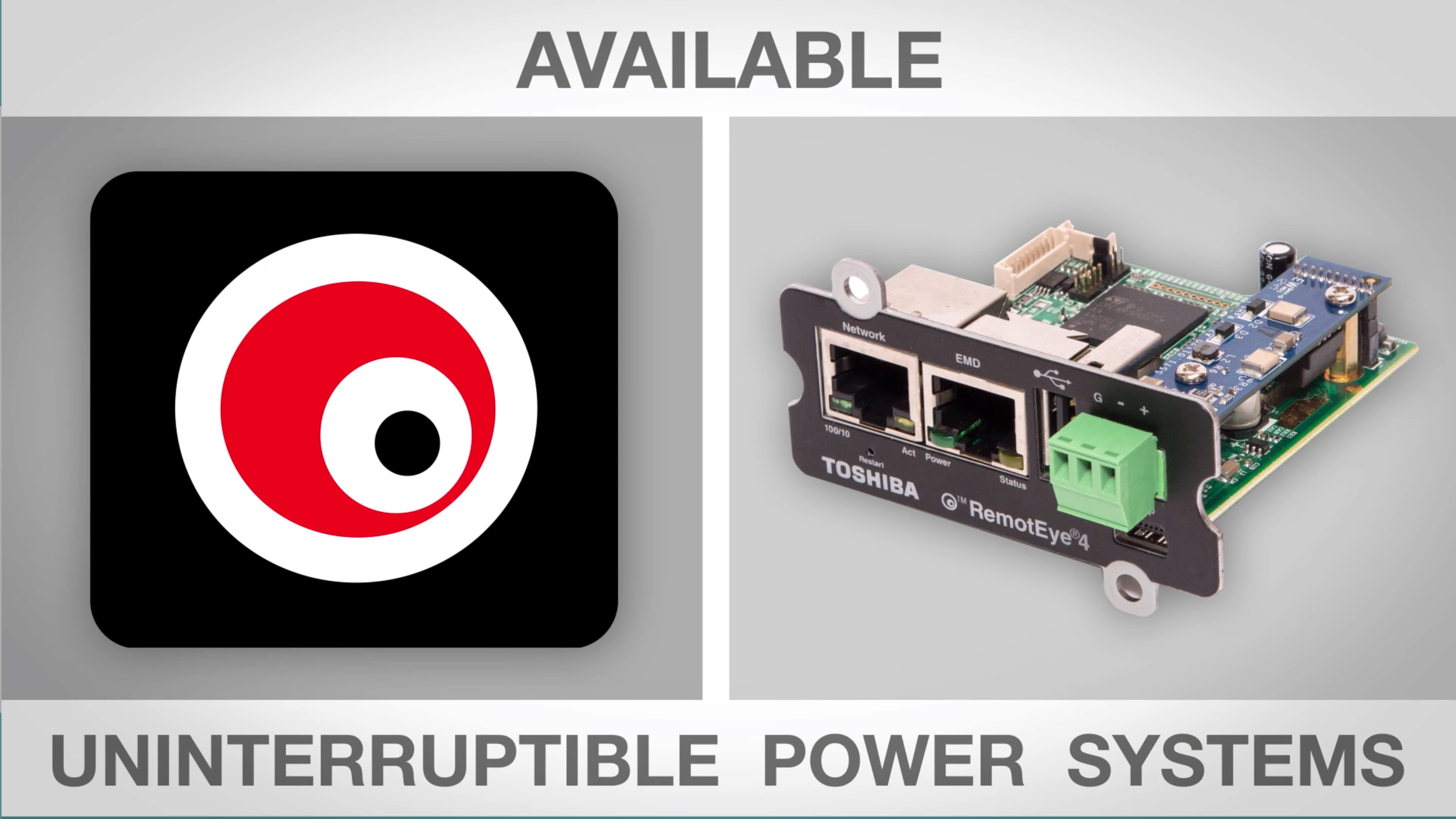 RemotEye4   Power Electronics   Toshiba International Corporation