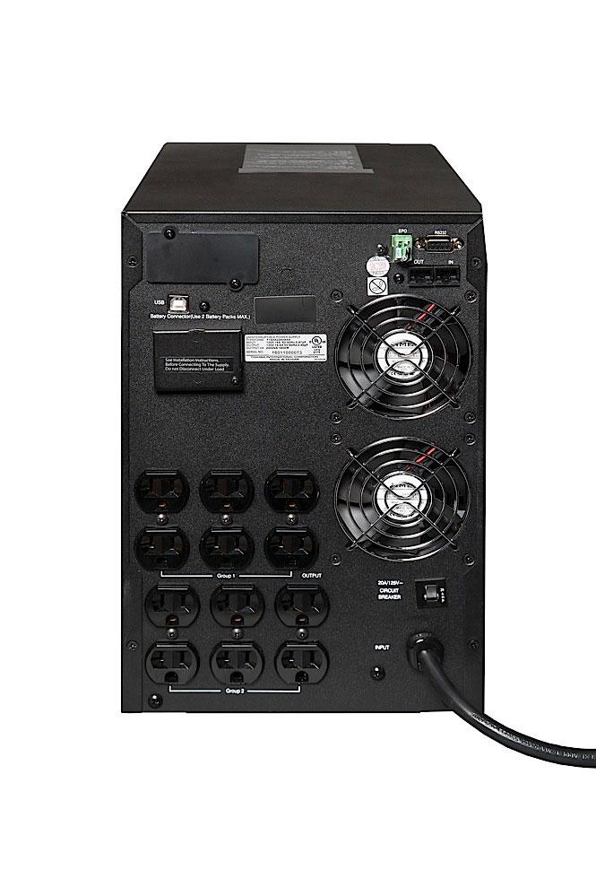 Single Phase Double Conversion UPS | Power Electronics | Toshiba